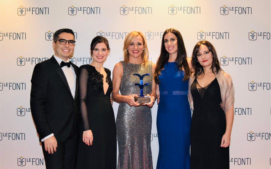 Premiazione Le Fonti Awards Winter Edition